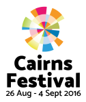 Cairns Festival Logo 2016 –Stacked