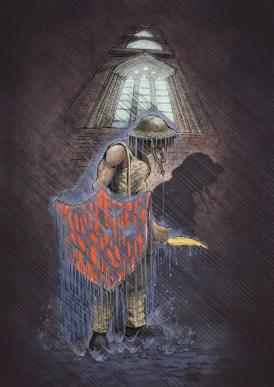 Digger in the Rain - Cassim Akkerman