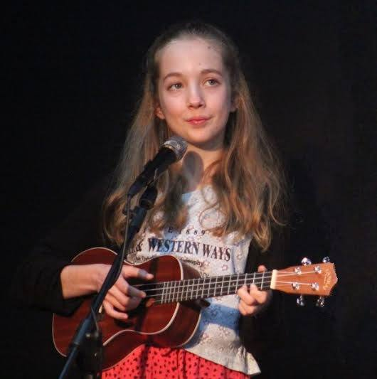 Georgie Taylor and Ukulele 2015