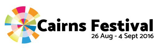 Cairns Festival Logo 2016 - Horiz