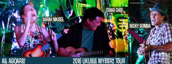 Mystery tour event banner